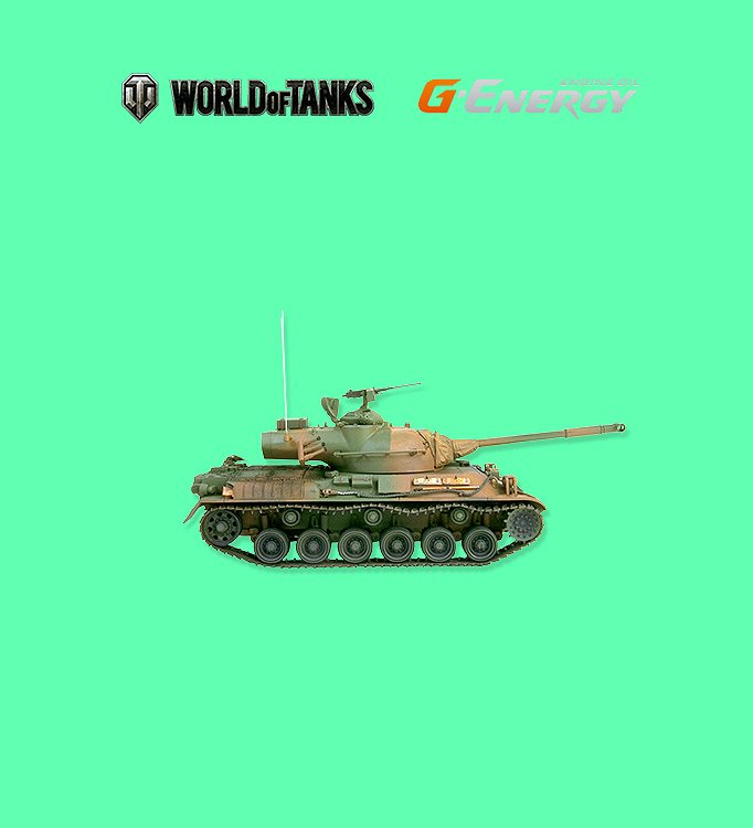 Промо-сайт World Of Tanks и Газпромнефть